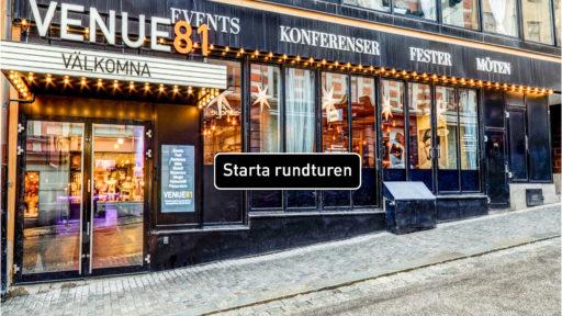 Virtuella rundturer på VENUE81 och Skyddsrummet